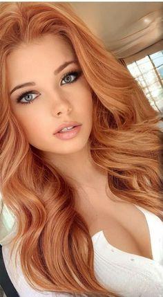 Beautiful Red Hair, Beautiful Eyes, Gorgeous Women, Beautiful Pictures, Red Hair Woman, Woman Face, Blonde Beauty, Hair Beauty, Belle Silhouette