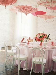 Bella Umbrella Rentals > http://rent.bellaumbrella.com/ | #umbrellas #wedding #pink