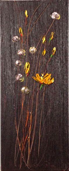 Dandelion, Flowers, Painting, Art, Craft Art, Dandelions, Painting Art, Kunst, Paint