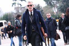 Street Style Pitti Uomo 85 #fashion #style