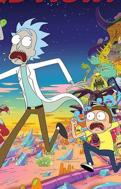 Rick And Morty..........And Monsters