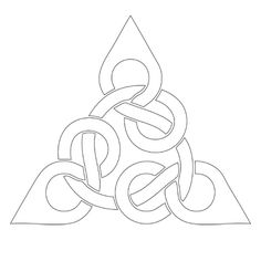 celtic knot design Wood Carving Patterns, Carving Designs, Triquetra, Deco Cuir, Celtic Tribal, Leather Tooling Patterns, Celtic Symbols, Celtic Knots, Celtic Knot Designs