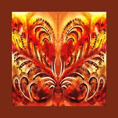 Desert Flower Abstract ' - http://irina-sztukowski.artistwebsites.com/featured/desert-flower-abstract-irina-sztukowski.html #fineart #art #artwork #decoratehome #artgift #gift #painting #homedecor