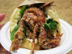 Gazi Melbourne Soft Shell Crab Souvlaki