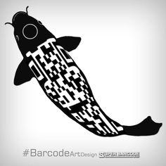 𝚂𝚄𝙿𝙴𝚁 𝙱𝙰𝚁𝙲𝙾𝙳𝙴  #BarcodeArtDesign Barcode Art, Barcode Design, Adidas Logo