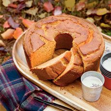 Sweet Potato Pound Cake by Southern Living. Bored with sweet potato casserole? Try this sweet potato pound cake, a twist on traditional pound cake that features nutrient-rich sweet potatoes. It's the perfect addition to holiday dessert tables. Fall Cake Recipes, Pound Cake Recipes, Dessert Recipes, Pound Cakes, Dessert Ideas, Muffin Recipes, Baking Recipes, Holiday Desserts, Just Desserts