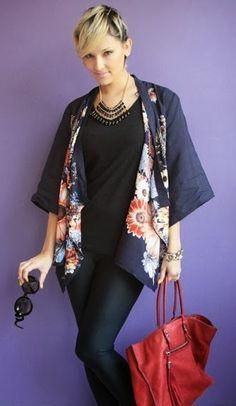 Moldes Moda por Medida: TÚNICA COM BICOS