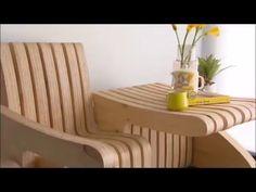 Скамья-стол трансформер - YouTube