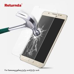 ee586d1594e8e Return Tempered Glass film for Samsung Galaxy 2016 2016 HD Clear Phone  Premium Screen Protector Film