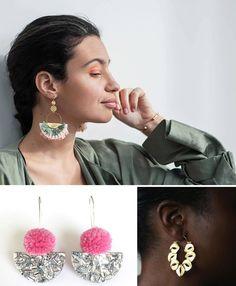 Gorgeous earrings - seen on Etsy.com