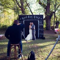 Chalkboard Photo Booth - Wedding Photo Booth - Giant Photobooth | Lost Hill Lake Events