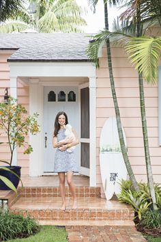 House Envy: Pink Palm Beach House - lark & linenlark & linen