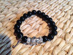 Buddha and initial bracelets...