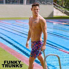 e64cd521bd Predator Party // Training Jammer #getfunkd #funkytrunks #swimwear