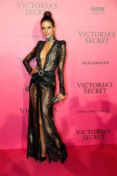 Alessandra Ambrosio - 2016 Victoria's Secret Fashion Show After-party - HarpersBAZAAR.com