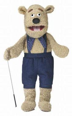 "28"" Silly Bear Puppet w/ Arm Rod"
