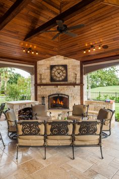Do you need inspiration to make some DIY Outdoor Patio Design in your Home? Design aesthetic is a significant benefit to a pergola above a patio. There are several designs to select from and you may customize your patio based… Continue Reading → Rustic Outdoor Fireplaces, Outdoor Fireplace Designs, Outdoor Patio Designs, Backyard Fireplace, Outdoor Kitchen Design, Patio Ideas, Fireplace Ideas, Outdoor Patios, Rustic Outdoor Kitchens