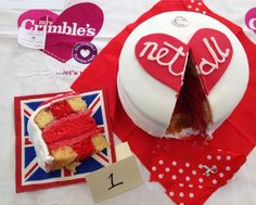 I Heart Netball Cake The winner of the Most Creative Cake at this year's #GreatENBakeOff for @CR_UK is this beauty! #WeHeartNetball