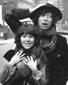 The 4th Doctor (Tom Baker) and Sarah Jane Smith (Elisabeth Sladen) - 1974 to 1976.
