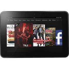 "Amazon Kindle Fire HD 8.9"" 16 GB Memory - Black"
