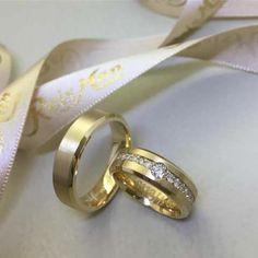 Alianças para se inspirar #aliança #casamento #Reisman