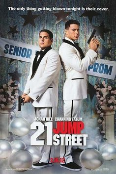 A pair of underachieving cops are sent back to a local high school to blend in and bring down a synthetic drug ring. Released:  16 March 2012