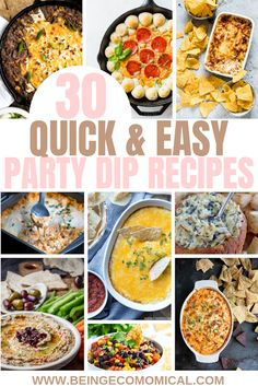 Are You Ready for the Next Super Bowl? Party Dip Recipes, Appetizer Recipes, Dinner Recipes, Pasta Recipes, Crockpot Recipes, Soup Recipes, Breakfast Recipes, Chicken Recipes, Vegetarian Recipes
