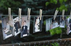 I want to do this along the fence in the back yard for the rehearsal dinner.