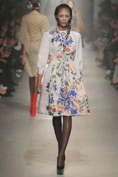 Vivienne Westwood Gold Label AW2013/14 at Paris Fashion Week