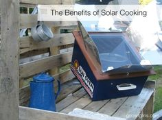 Benefits of Solar Cooking | This summer I have been experimenting with solar cooking. What an amazing experience! I love solar cooking for so many reasons, and in this post I tell you why I love it, which oven I recommend, plus I clear up misconceptions about solar cooking and I share my best tips. | TraditionalCookingSchool.com