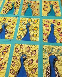 Jungle Art Projects, School Art Projects, First Grade Art, 6th Grade Art, Art Drawings Beautiful, Art Drawings For Kids, Art For Kids Hub, African Art For Kids, Oil Pastel Art