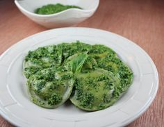 Three Cheese Basil Raviolis - Little Leopard Book