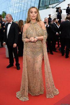 Rita Ora In Elie Saab Couture – Cannes Film Festival 70th Anniversary Celebration 2017