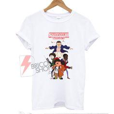 Stranger Things Kids Shirt On Sale Stranger Things Kids, Stranger Things Shirt, Cool Tees, Cool T Shirts, Funny Shirts, Supreme Shirt, Kids Shirts, Cool Stuff, Clothes