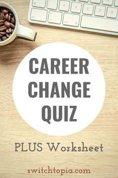 Ready to quit your job? Take this Career Change Quiz and get your scoreThinking about quitting your job? Wondering if it's time to change careers? Try this career change quiz to get a clear picture of how unhappy you are . Dream Career, New Career, New Job, Career Path, Career Quiz, Career Advice, Career Change For Teachers, How To Change Careers, Change Mindset