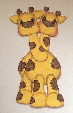 SCRAPBOOK PAPER PIECING TINY TREASURE GIRAFFE SET OF 2 HUGS BY MY TEAR BEARS Paper Punch Art, Punch Art Cards, Paper Art, Diy Paper, Paper Crafts, Paper Piecing, Giraffe Nails, Scrapbook Paper, Scrapbooking Ideas