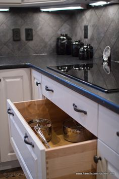 kitchen cabinet storage solutions, kitchen design, shelving ideas, storage ideas, Sometimes lower base cabinet mounted microwaves are a good choice Especially for children to reach and use not always the best idea we know or when you want it tucked away for design reasons