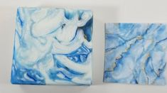 I used Brilliant Blue Mica, Sky Blue Mica from Nurture, Powder Blue from Micas & More, and Goldfinger from Mad Micas with Titanium Dioxide. Soaps, Mad, Powder, Pretty, Artwork, Blue, Painting, Inspiration, Hand Soaps