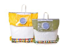 Repurpose Schoolbags are a Recycled Carryall and Solar-Powered Reading Lamp in One | Inhabitots