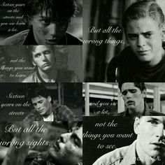 I'M NOT CRYING YOU'RE CRYING!!! #theoutsiders #theartsiders #theartsyoutsiders #theoutsidersartsy