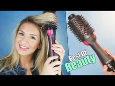TESTING the Revlon One-Step Volumizer Hair Dryer  | DEMO & REVIEW Best Of Beauty! - YouTube