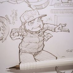 JonTron pitching his rap single to Mark Simmons. Sketched during last Friday's live stream. My channel: twitch.tv/banzchan    #gamegrumps #jontron #egoraptor #rapper #marksimmons #twitch #TwitchCreative #twitchtv
