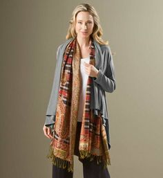 Floral Tapestry Meditation Shawl  : Energize your practice with our exquisitely blooming #meditation wrap. Hand woven by fair trade artisans from 100% viscose from sustainable bamboo. Get it at http://www.gaiam.com/tapestry-meditation-shawl/04-1374.html?utm_source=pinterest&utm_medium=socialmedia&utm_campaign=ptgaiamcom&extcmp=sm_pt_tc