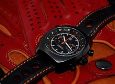 driving gloves and watches | Straton Curve-Chrono watch and driving gloves now on Kickstarter - watchuseek.com