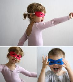 No-sew #superhero mask!
