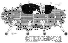 Archigram walking city