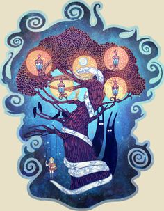 Tree of Life by yanadhyana.deviantart.com on @deviantART