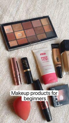 Makeup Routine, Makeup Kit, Skin Makeup, Eyeshadow Makeup, Makeup Brushes, Makeup Tutorial Eyeliner, Makeup Looks Tutorial, Simple Makeup, Natural Makeup
