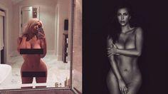 Kim Kardashian destroys slut-shamers in response to her naked...: Kim Kardashian destroys slut-shamers in response to her… #KimKardashian