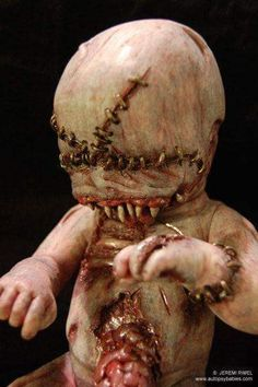 Autopsy Babies by Jeremi Rimes Sick Zombie Dolls, Scary Dolls, Creepy Horror, Creepy Art, Halloween Doll, Spooky Halloween, Halloween 2018, Arte Horror, Horror Art